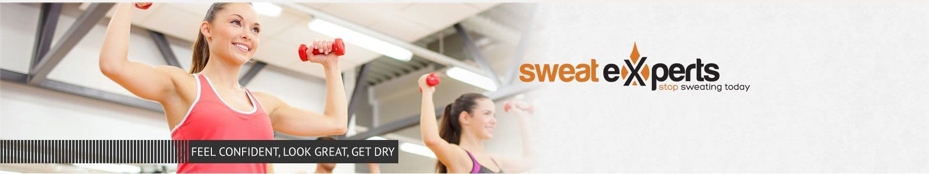 SweatExperts.com - Stop sweating today